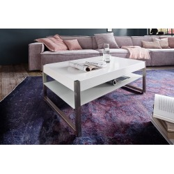 Miko - white matt coffee table