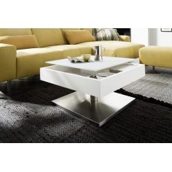 Mariko - white matt lacquered coffee table