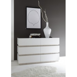 Marte - lacquered chest of drawer