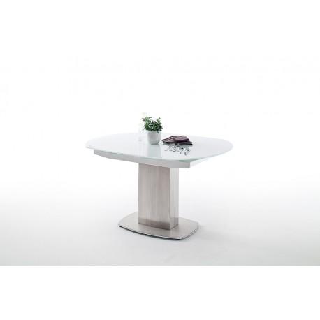 Zolder 130-190cm swivel extendable dining table