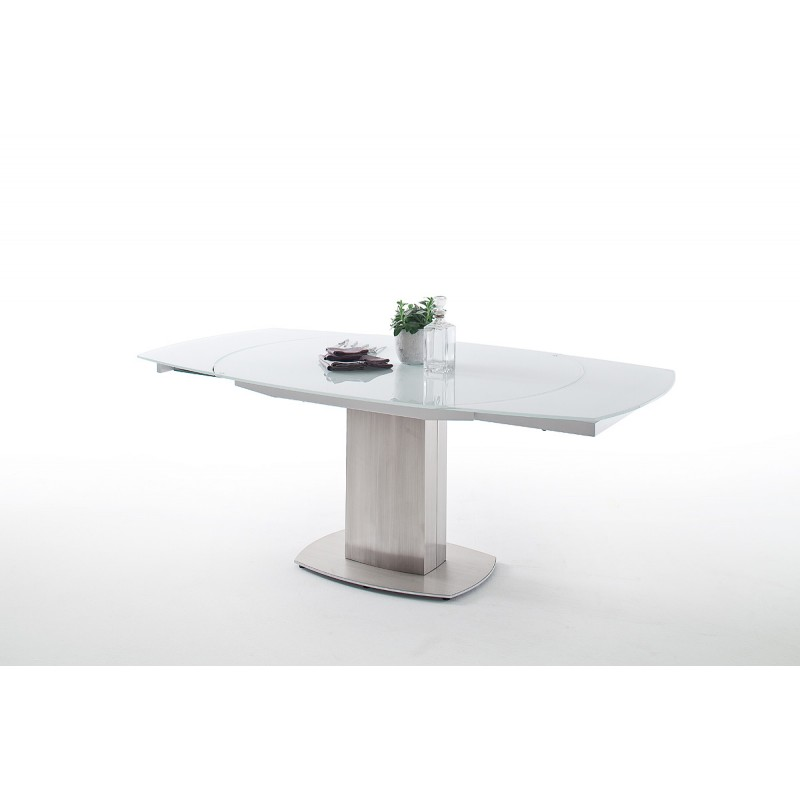 224f224e9842 Zolder 130-190cm swivel extendable dining table - Dining tables ...