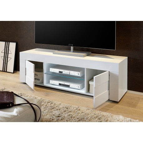 Easy 138cm High Gloss TV Unit