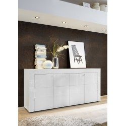 Easy 181cm white gloss sideboard