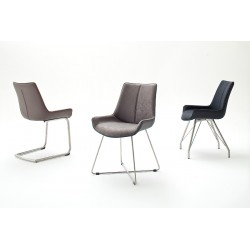 Donna A - luxury dining chair with various colours and base options