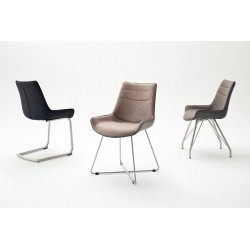 Donna B - luxury dining chair with various colours and base options