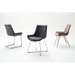 Donna C - luxury dining chair with various colours and base options