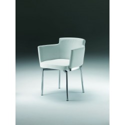 Amalia - luxury swivel dining chair
