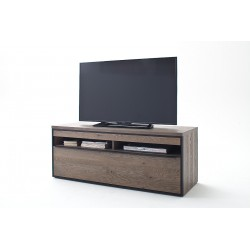 Avignon - solid grey oak TV unit