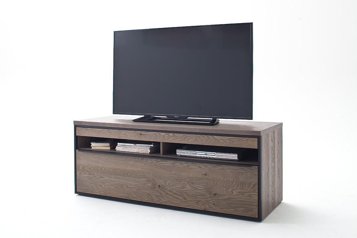 Avignon Solid Grey Oak Tv Unit Modern Wood Collections Sena  # Meuble Tv Ovio