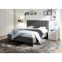 Sole - modern upholstered Italian bed in various colours
