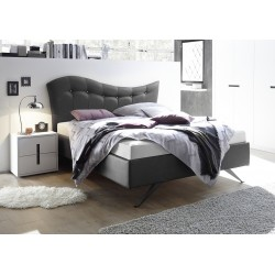 Onda - modern upholstered Italian bed in various colours