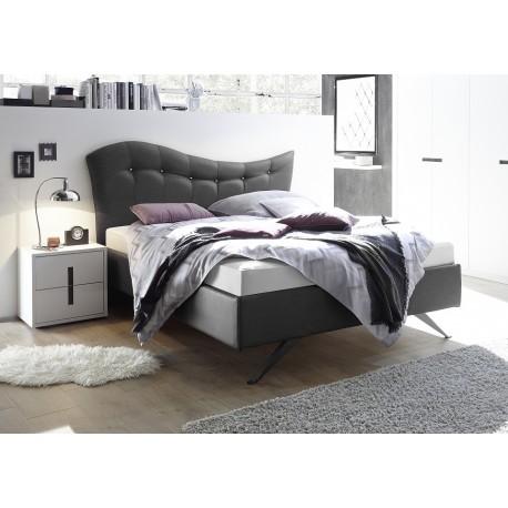 Onda - modern upholstered Italian bed in various colours