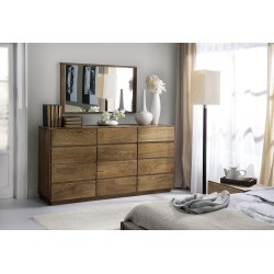 Atlanta I - large solid wood sideboard in various wood option