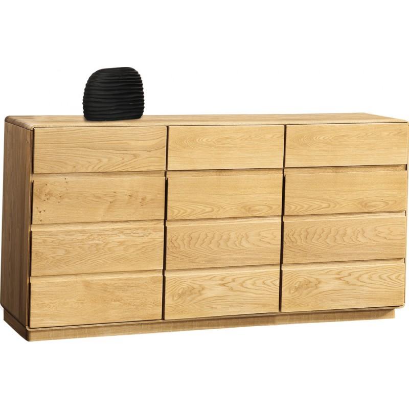 Atlanta I Large Solid Wood Sideboard In Various Wood