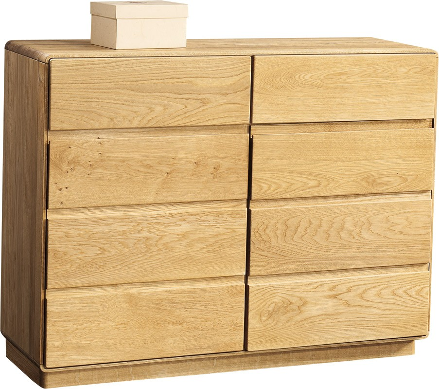 Atlanta Assembled Solid Wood Chest In Various Wood Option