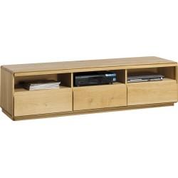 Atlanta II - large solid wood TV unit in various wood option