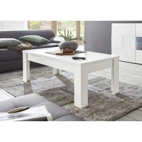 Diana White Gloss Coffee Table Coffee Tables 2854 Sena Home Furniture