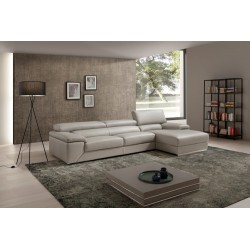 Toronto corner leather sofa - fast delivery