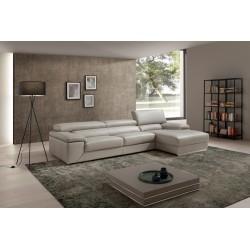 Toronto corner leather sofa - fast delivery