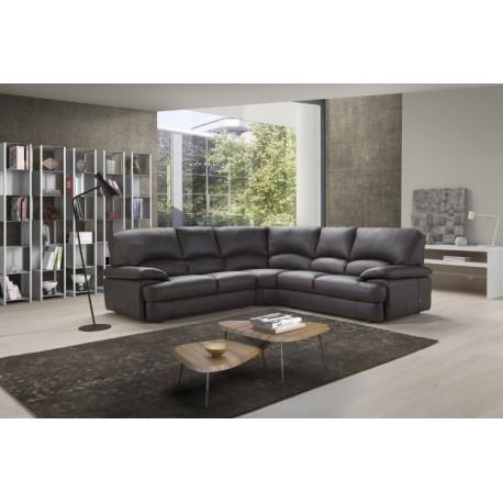 Milano Corner Leather Sofa   Fast Delivery