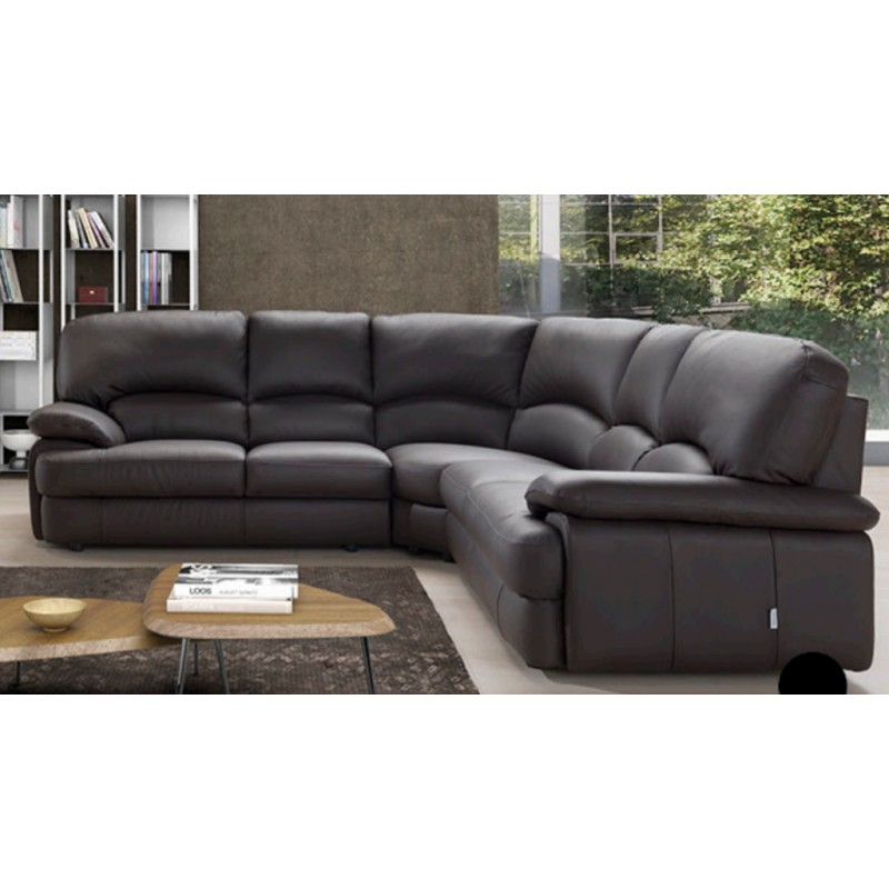 Exceptionnel Milano Corner Leather Sofa   Fast Delivery.  £ 300.00