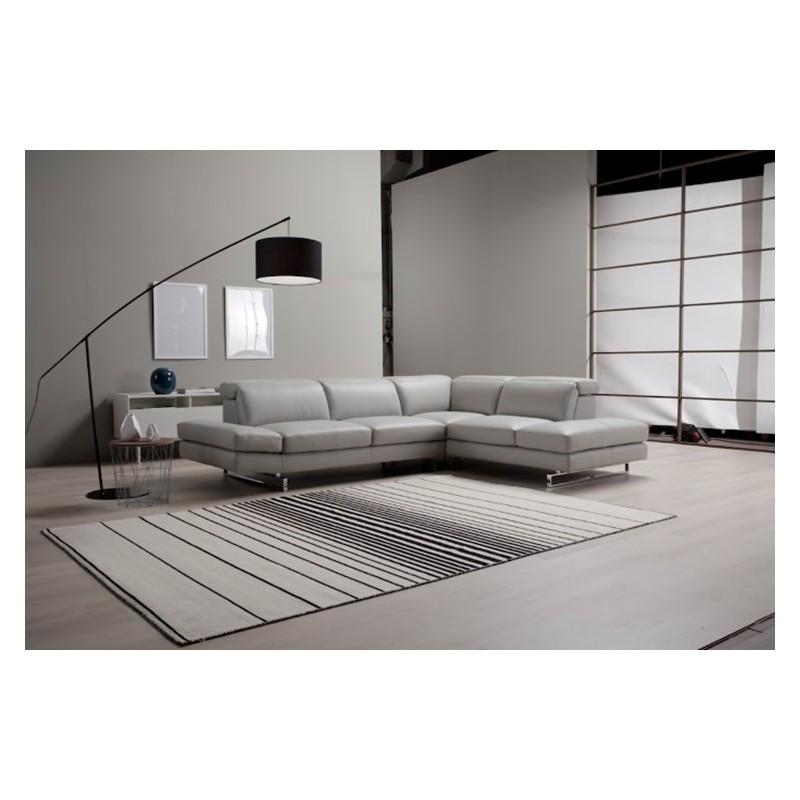 Italian Sofa Brent Cross: Caprice Italian Corner Leather Sofa