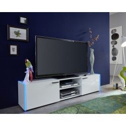 Shark - lacquer TV Stand with colorful lighting