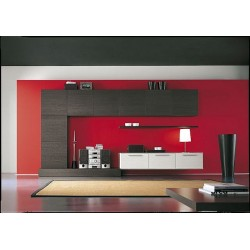 Dark quadro wall set