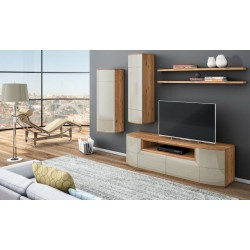 Rona - luxury bespoke TV unit with optional lighting