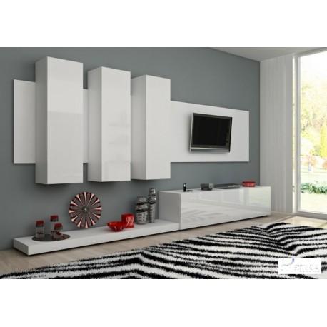 White area - lacquer wall set