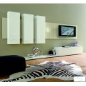 White area - lacquer wall set