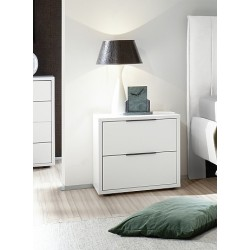 Sole - lacquered bedside cabinet