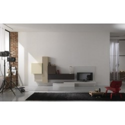 Tetris II lacquered wall set