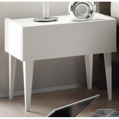 Rex set of two lacquered bedside cabinets : set of bedside tables - pezcame.com