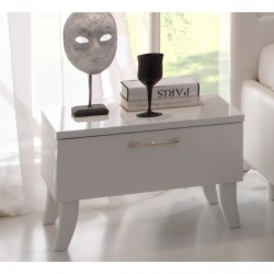 Sibilla- high gloss bedside cabinet