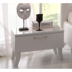 Sibilla high gloss bedside cabinet