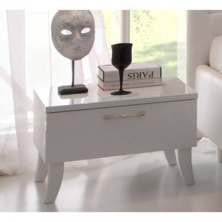 Sibilla- high gloss bedside cabinet