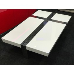 Oxa- white gloss coffee table
