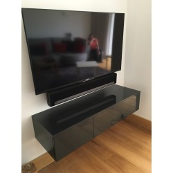 Cobra - grey gloss hanging  TV Unit