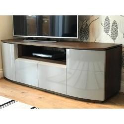 Rona - luxury bespoke TV unit with optional lighting