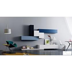 Tetris IV - lacquer wall set