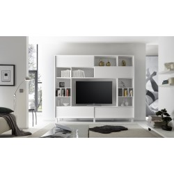 Armadio matt lacquered wall unit