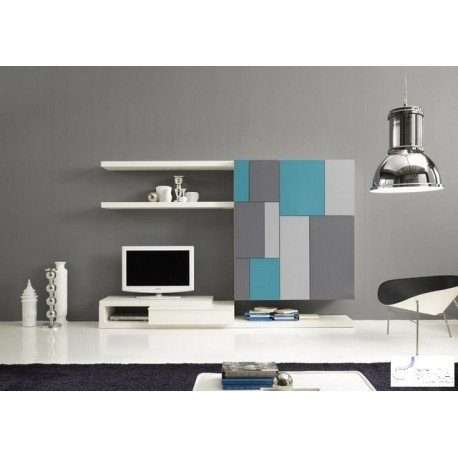 Tetris V - lacquer wall set