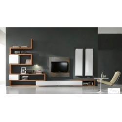 Zig zag III - lacquer wall set