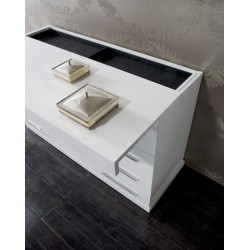 Jade luxury bespoke chest of drawer