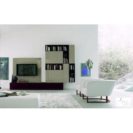 Pareto II - luxury lacquer wall set