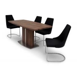 Ramon walnut extendable dining table