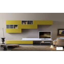 Giallo - lacquer wall set