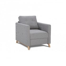 Yoko Scandinavian style armchair in various finishes