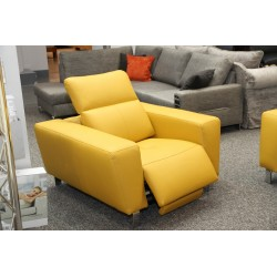 Livio Divano exclusive armchair with Electrically controlled seat